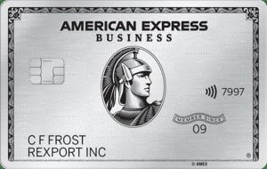 Amex Platinum Business Card image