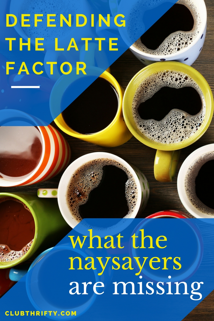 "Can you actually get rich by skipping your daily coffee? Many say ""no."" I think they're wrong. Here's why discovering your latte factor really does matter to your money."