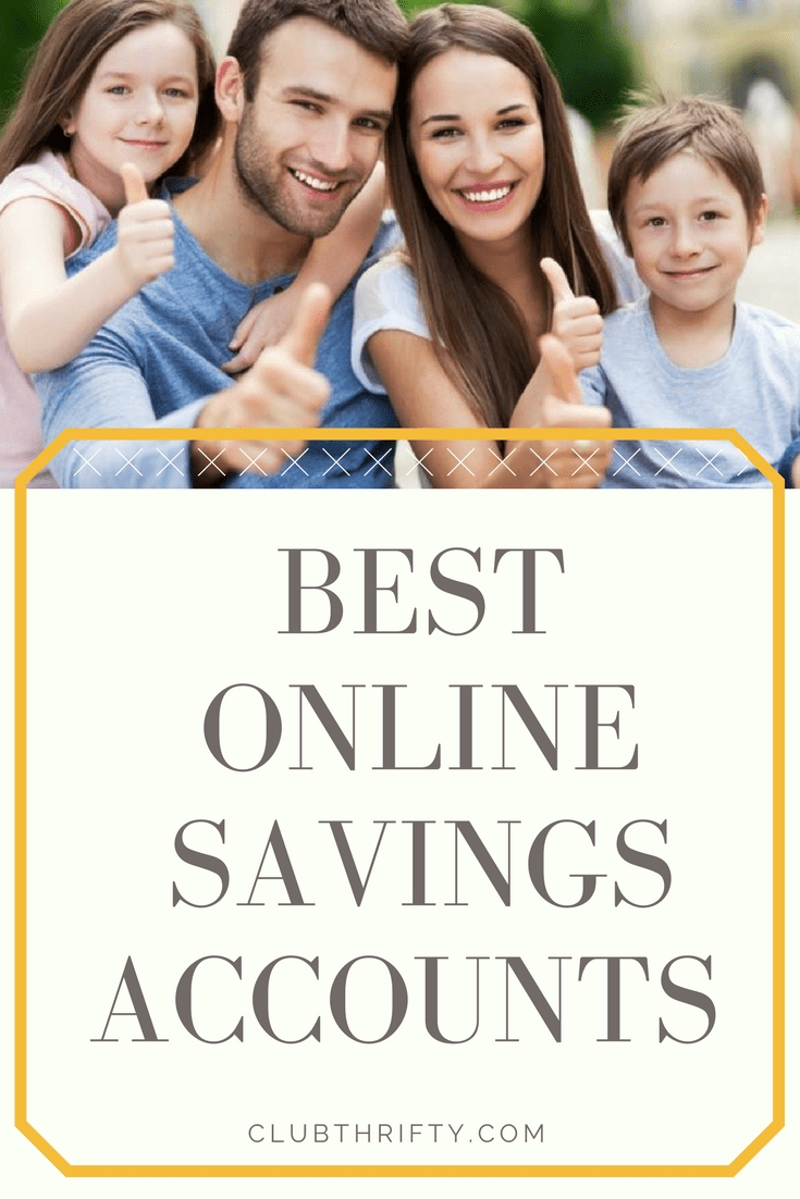 Looking for the best online savings account and savings account rates? We've got your back! This piece details our favorite online savings accounts and their current rates.