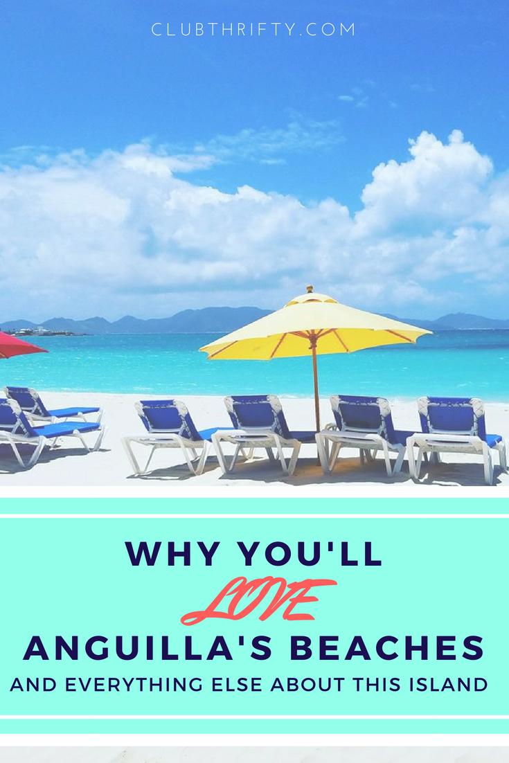 Anguilla's beaches may be the most beautiful in the entire world, and that's not an exaggeration. Still, beaches aren't the only thing this Caribbean island has going for it. Here are 6 great reasons to add Anguilla to your travel bucket list!