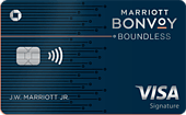 image of the marriott bonvoy boundless credit card