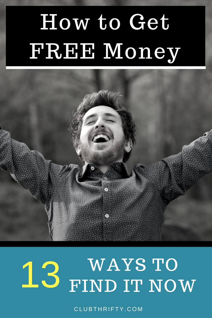 Free money is a real thing! You just need to know where to find it. From the government to bank bonuses, we'll teach you how to get free money now and put it directly in your pocket.