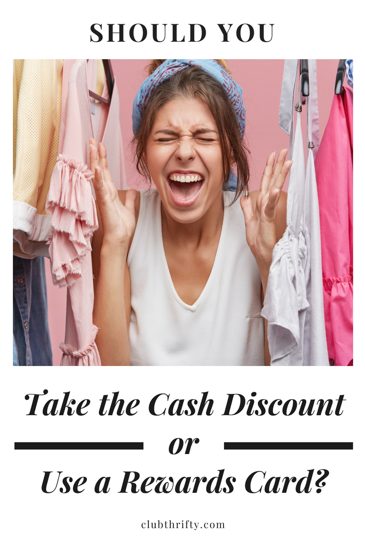 Should you take a cash discount or use a rewards card instead? These four questions will help you decide how to get the most value from your spending.
