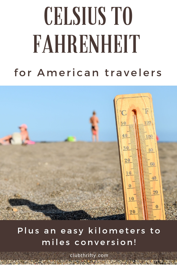 Tired of being the silly American traveler who can't convert Celcius to Fahrenheit? Here are some easy tips to make metric conversions in a snap!