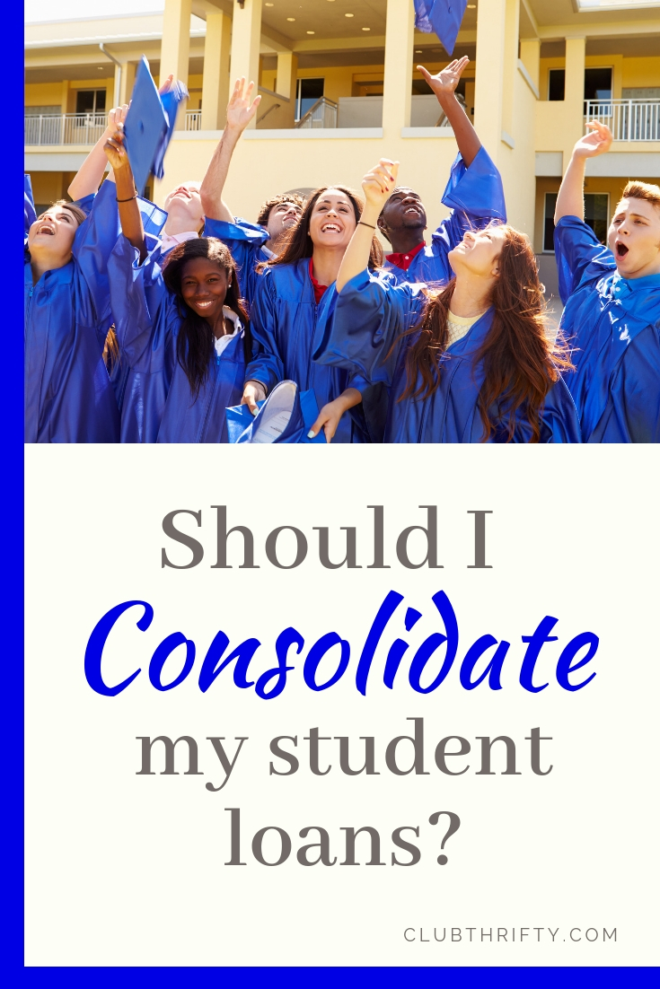 Should you consolidate your student loans? This piece details the ins and outs of student loan consolidation and whether it's a good fit for you.