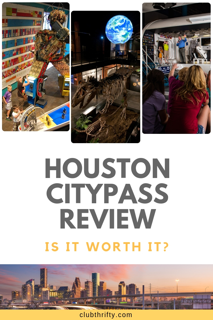 Houston CityPASS review - is it worth it?