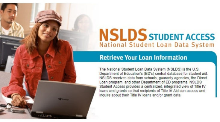 The NSLDS is a database of student loan information run by the U.S. Department of Education. Here's how to use it to find your student loan information.