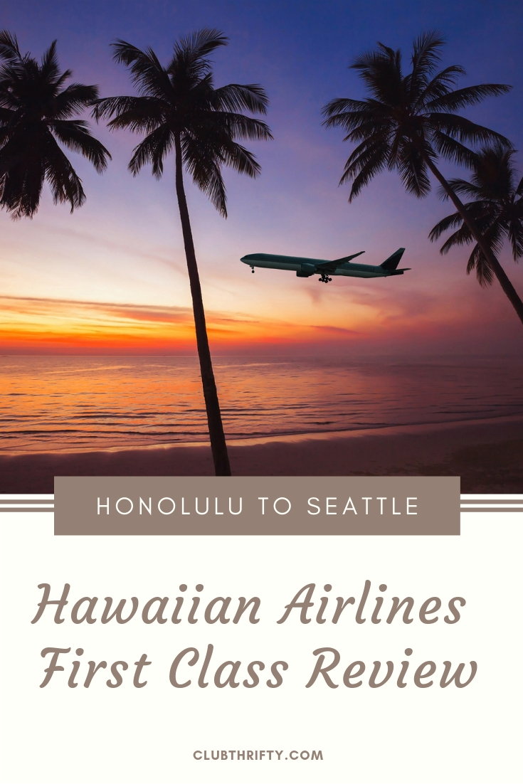 We recently flew on the Hawaiian Airlines First Class flight from Honolulu to Seattle. Read our review to see how it went and learn how to do it for less!