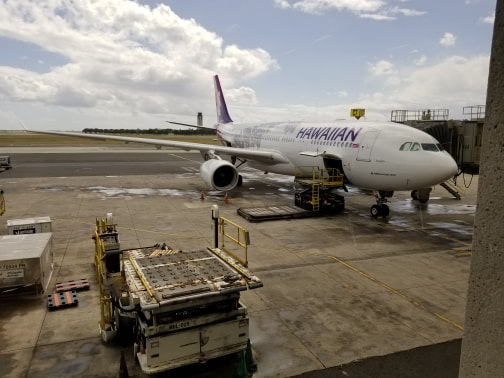 Hawaiian Airlines First Class to Seattle review
