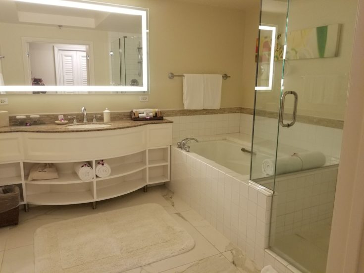 Grand Wailea review - bathroom