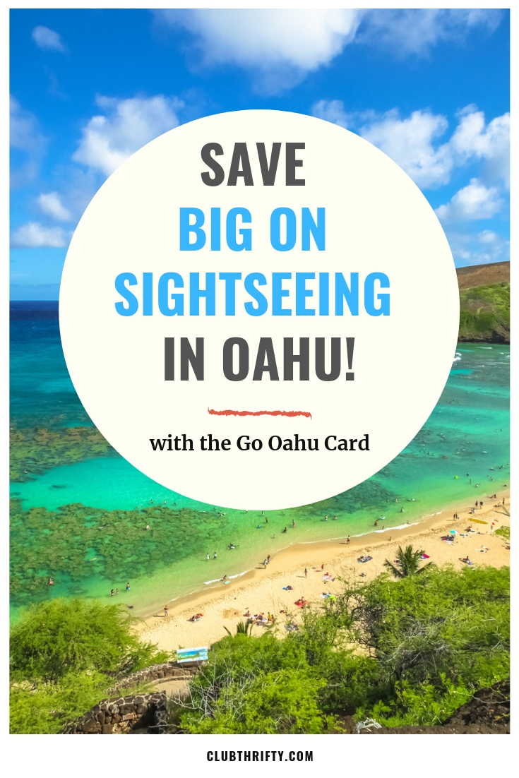 Go Oahu Card Pin - Photo of Oahu Beach