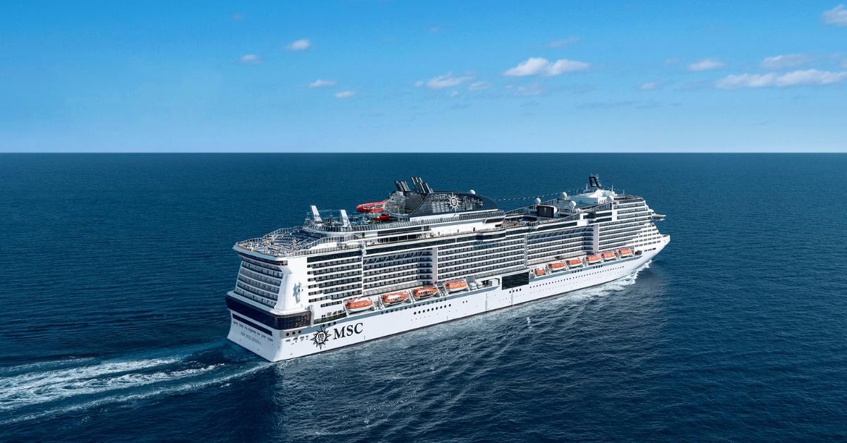 MSC Bellissima Review - Photo of MSC Bellissima Ship on Ocean