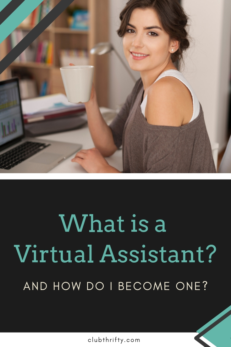 What is a Virtual Assistant - woman laptop and coffee