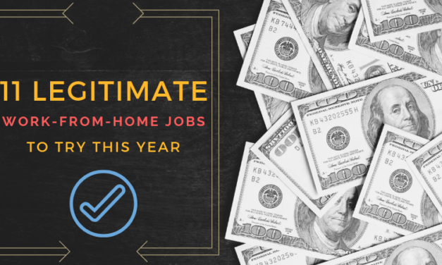 11 Legitimate Work-from-Home Jobs for 2020