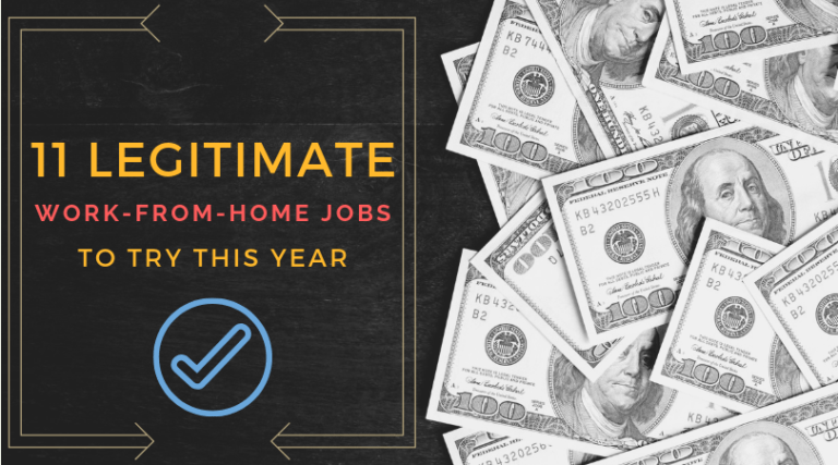 11 Legitimate Work-from-Home Jobs for 2021