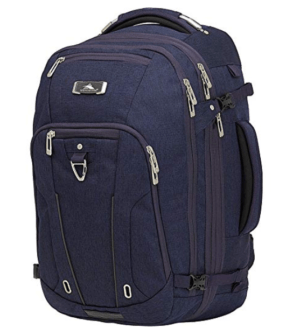 best travel backpacks - photo of High Sierra Convertible Duffle Canvas Backpack