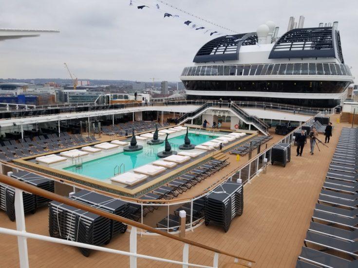 pool on the MSC Bellissima