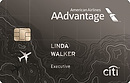 citi aadvantage executive world elite mastercard image