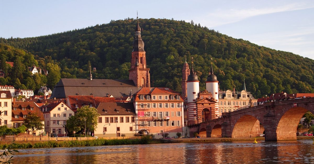 Small Towns in Europe are Best - picture of small German town