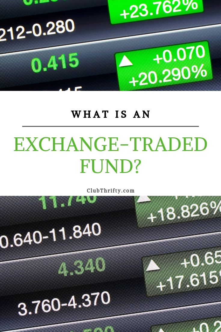 What is ETF Pin - picture of stock market prices