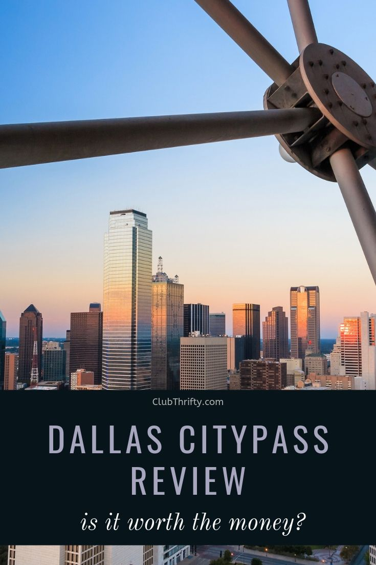 Dallas CityPASS Pin - picture of Dallas skyline