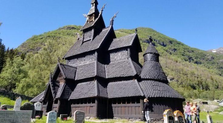 Photo of Borgund Stave Church in Norway