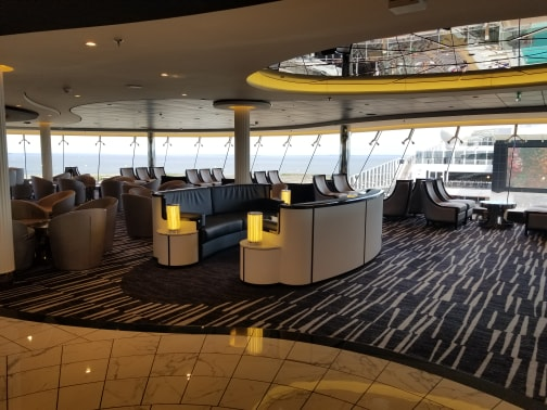 photo of lounge on MSC Meraviglia