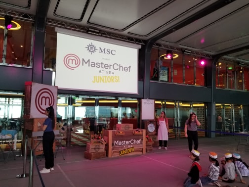 "photo of MSC Meraviglia ""Master Chef at Sea Juniors"""