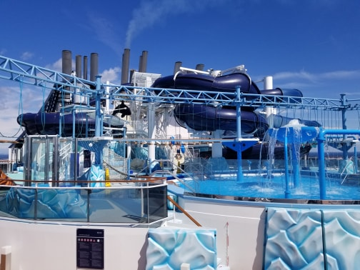 photo of waterpark on MSC Meraviglia