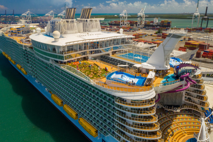 photo of symphony of the seas waterpark