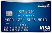 image of Capital One Spark Miles for Business Credit Card
