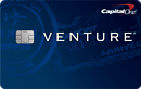 image of capital one venture rewards card