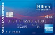 Hilton Honors Surpass Card