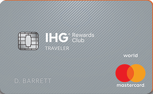 image of IHG Rewards Club Traveler credit card