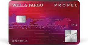 Wells Fargo Propel American Express Card Logo