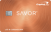 Capital One Savor Cash Rewards Card image