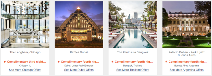 FH&R screenshot of hotel offers