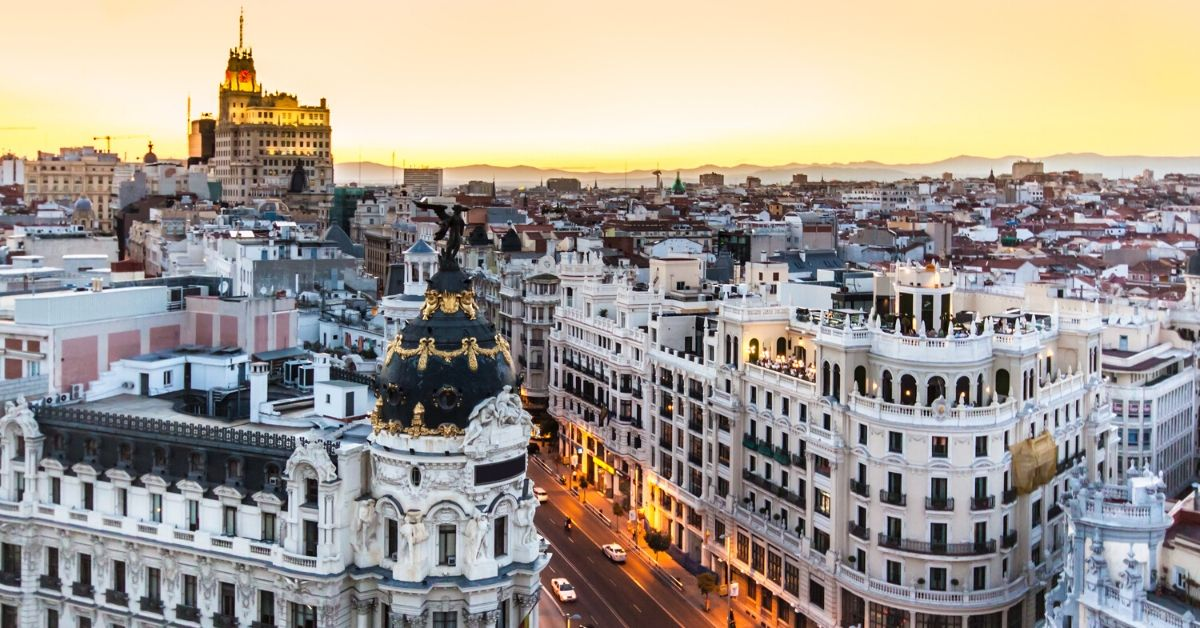 Go Madrid Pass Review - picture of Madrid skyline