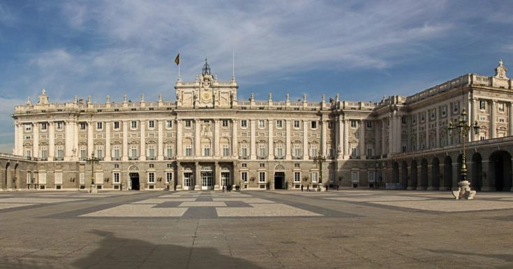 Picture of Royal Palace in Madrid