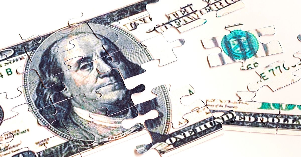 M1 Finance Review_picture of dollar bill puzzle