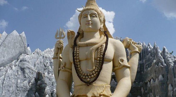 Image of Shiva statue in Bangalore