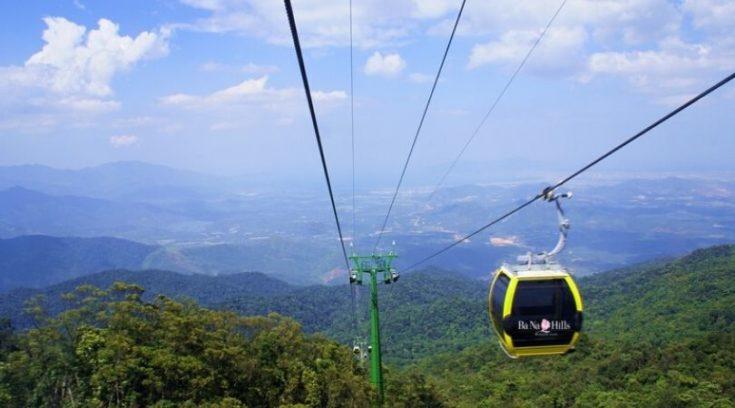 Photo of gondola near Da Nang, Vietnam