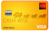 image of wells fargo cash wise visa