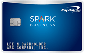 image of capital one spark mile for business