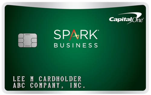 Capital One Spark Cash for Business Card Art Logo