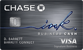 Chase Ink Business Cash Card Logo