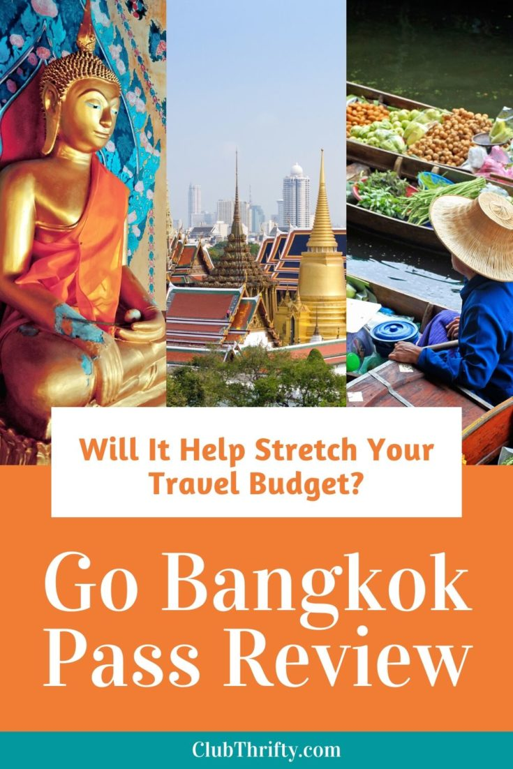 Go Bangkok Review Pin - scenes of Bangkok