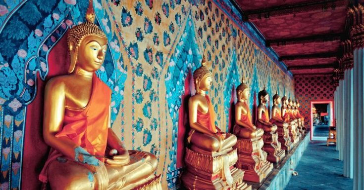 Go Bangkok Pass Review_picture of Buddha statues