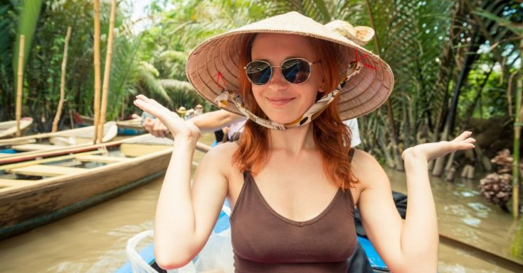 IMG Travel Insurance Review - picture of young woman in India