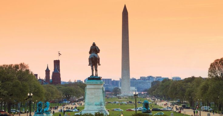 Go Washington DC Pass Review - picture of Washington Monument at Sunset